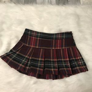 Abercrombie & Fitch Skirts - Vintage Abercrombie and Fitch plaid skirt